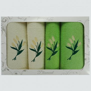 A set of towels for a gift
